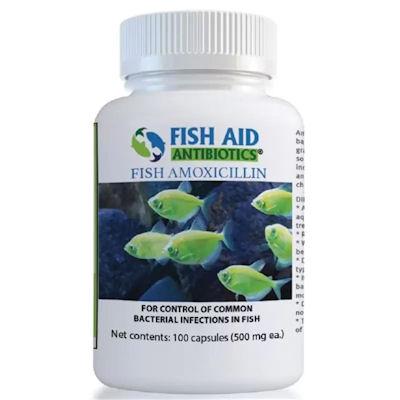 Fish Aid Amoxicillin -500 mg -100 capsules