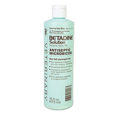 Betadine Solution - 16oz.