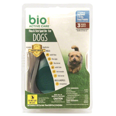 Bio Spot Dogs and Puppies 5-14 lbs - 3 months