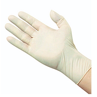 Latex Disposable Exam Gloves -