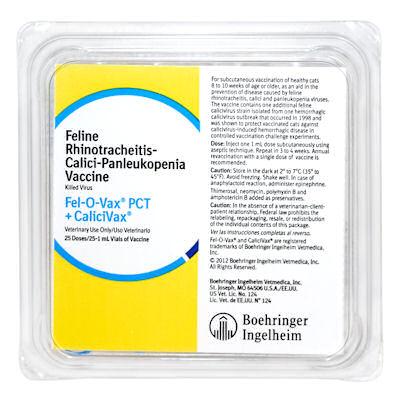 Fel-O-Vax PCT + CaliciVax - 25 dose tray