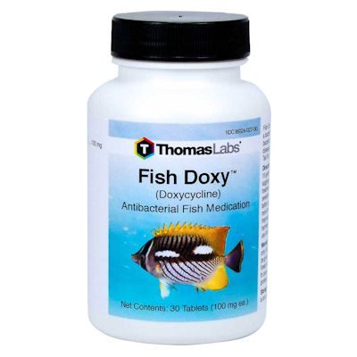 Fish Doxycycline  100 mg X 30 tablets