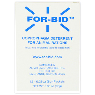 For-Bid Coprophagia Deterrent - 12 packets