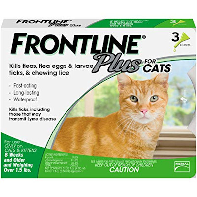 Frontline Plus Cats - 3 month supply