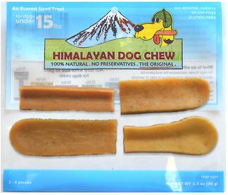 Himalayan Dog Chews - Small for Dogs under 15lbs
