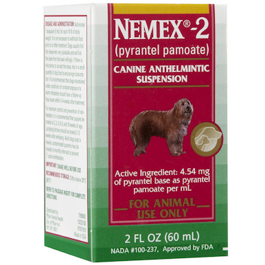 Nemex 2  - 60 ml - Liquid Wormer
