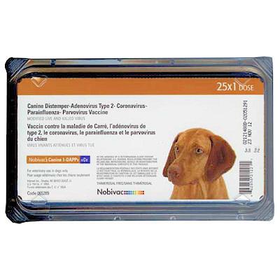 Nobivac Canine 1-DAPPv+ L4 (25 dose tray)