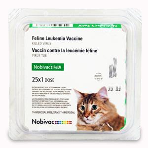 Nobivac: Feline 2-FeLV - Merck - 25 dose tray
