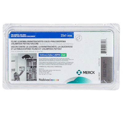 Nobivac: Feline 1-HCPCh+FeLV - 4 Way + Feline Leukemia - Lower Price