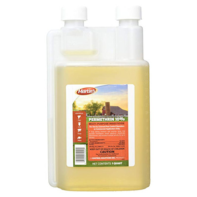 Permethrin 10 percent liquid concentrate