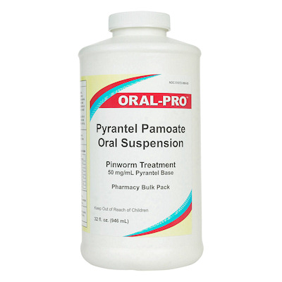 Pyrantel Pamoate Suspension - 32 0unce