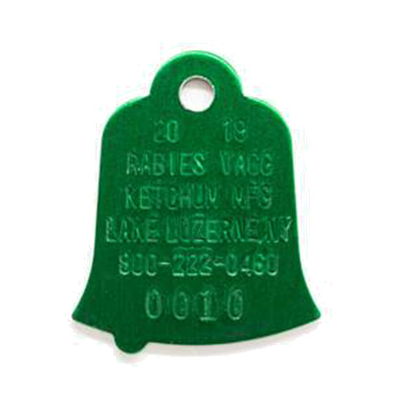Rabies Tags 2020- sold only as a unit of 10 tags