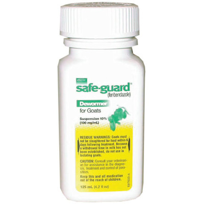 SafeGuard Suspension Dewormer - 125ml bottle