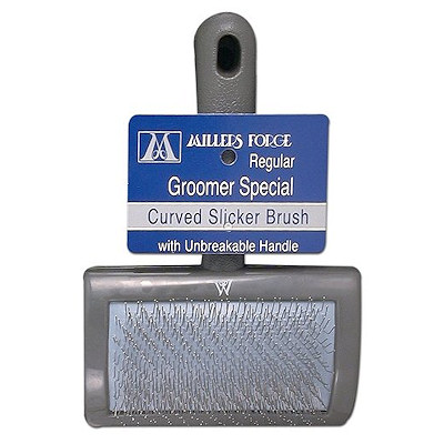 Universal Slicker Dog Brush - Stainless Steel