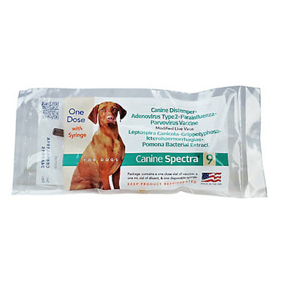Spectra 9 - Single dose, 9 way dog vaccine