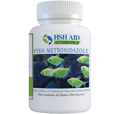 Fish Aid Metronidazole - 250 mg X 60 Tablets