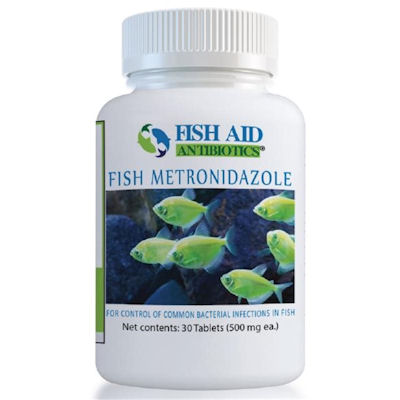 Fish Aid Metronidazole-500 mg X 30 Tablets